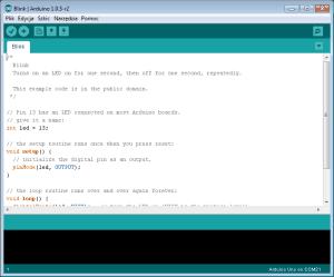 Przykładowy program na Arduino