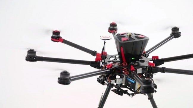 S1000 z zamontowanym systemem Dropsafe