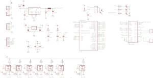 Przykładowy schemat LineFollowera