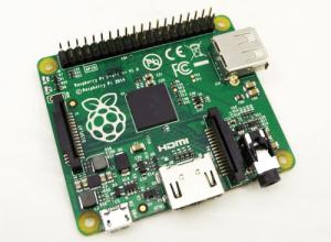 Pierwsze wrażenie z Raspberry Pi A+
