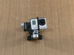 Gimbal + kamera GoPro