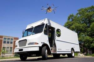 Doskonalsza wersja dostaw realizowanych dronami?