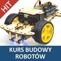 Kurs budowy robotów na Arduino