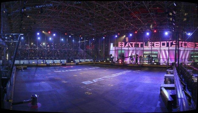 Arena zmagań robotów.