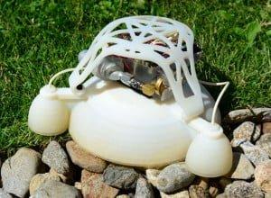 Drukowany, wybuchowy robot