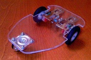 Wykorzystanie PMMA (plexi), do budowy ramy robota