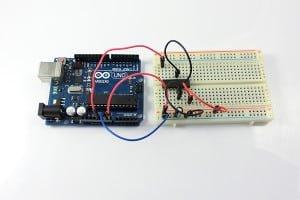 Podłączenie 5V (zasilanie logiki)