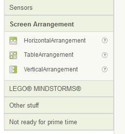 App Inventor - organizery.