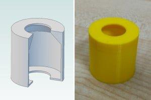 Druk 3D – Projektowanie modeli #2 – Podpory i mosty