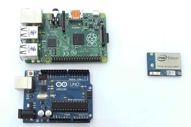Arduino, Raspberry Pi oraz Intel Edison