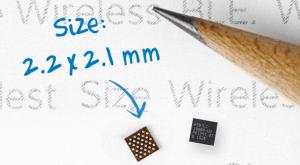 Jak mały może być moduł Bluetooth z ARM Cortex-M0?