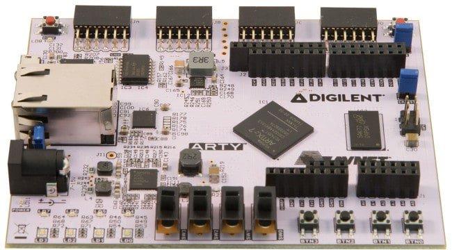 Arty-FPGA-Arduino