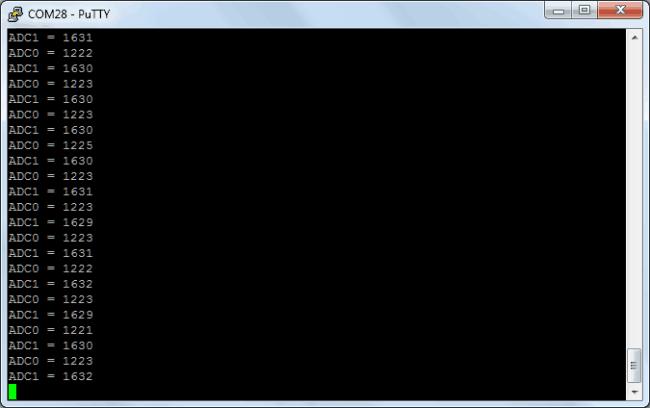 Odczyt ADC przez DMA na STM32.