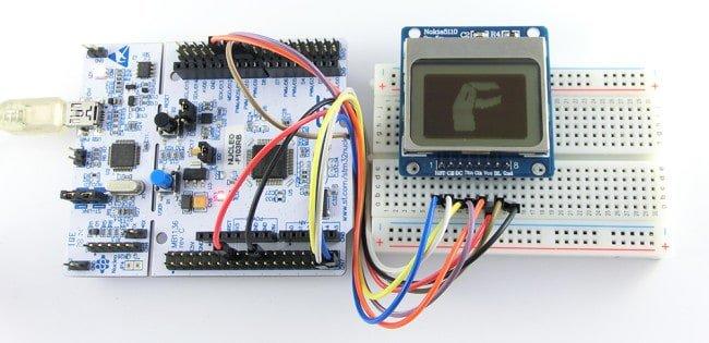 STM32 i wyświetlacz graficzny.