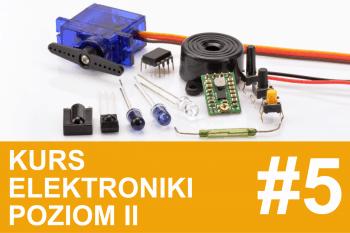 Kurs elektroniki II – #5 – czujniki analogowe