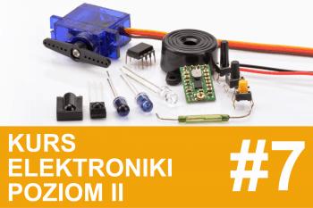 Kurs elektroniki II – #7 – nadawanie i odbieranie podczerwieni