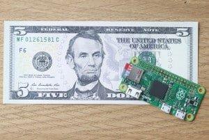 Raspberry Pi Zero za 5$ – odpowiedź na projekt CHIP?