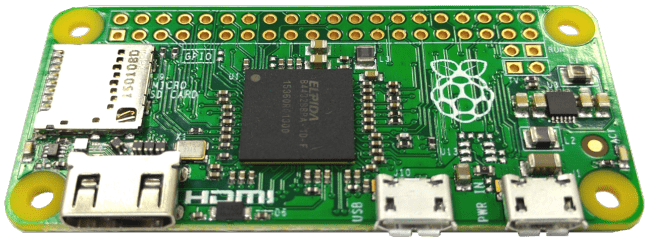 Raspberry Pi Zero, fot. element14.com
