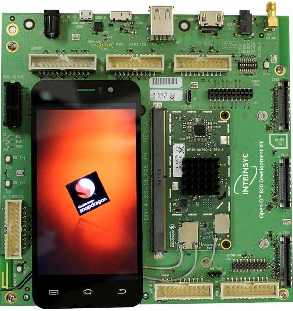 Zestaw uruchomieniowy do modułu Open-Q 820 SOM.