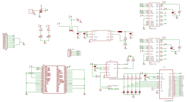 Schemat modułu RPi HAT.