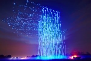 100 tańczących dronów – Intel ustanowił nowy rekord