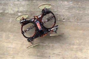 Robot Disneya, który jeździ po ścianach