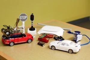 Autonomiczny samochód w skali RC