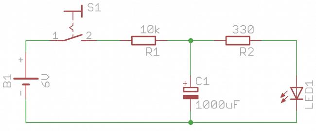 Schemat układu testującego działanie PWM.