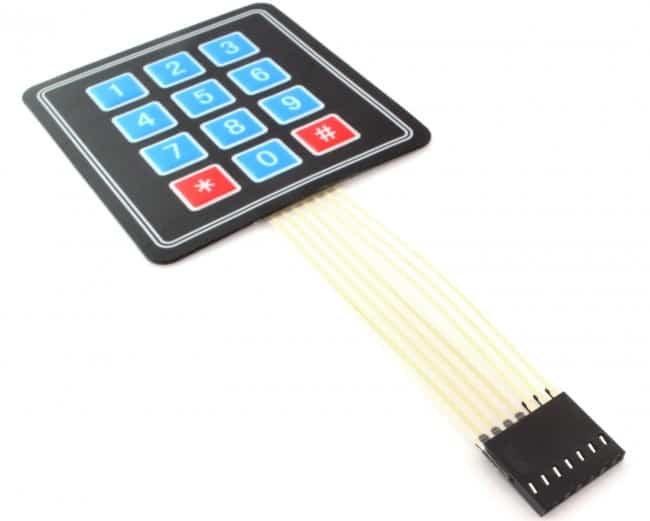 Podłączenie klawiatury do modułu Intel Edison.