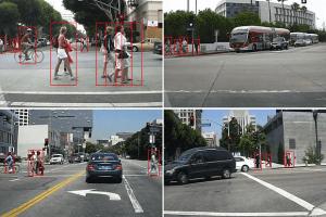 Samochody bezzałogowe łatwiej rozpoznają pieszych