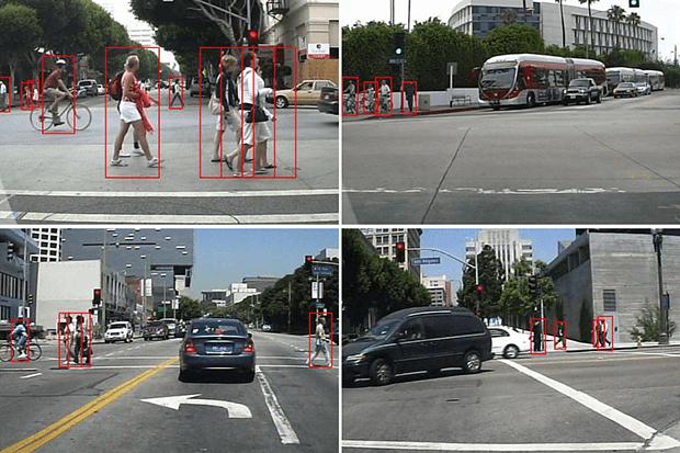Wykrywanie obiektów na drodze.