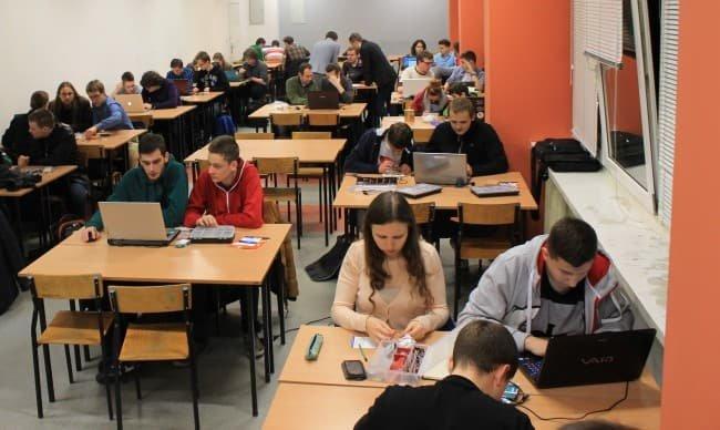 Warsztaty organizowane podczas Arduino Day.