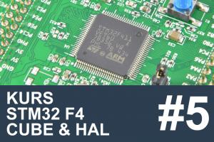 Kurs STM32 F4 – #5 – Pomiar napięcia, ADC, DMA, STMStudio