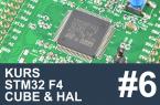 Kurs STM32 F4 – #6 – Liczniki, konfiguracja zegara, debugger