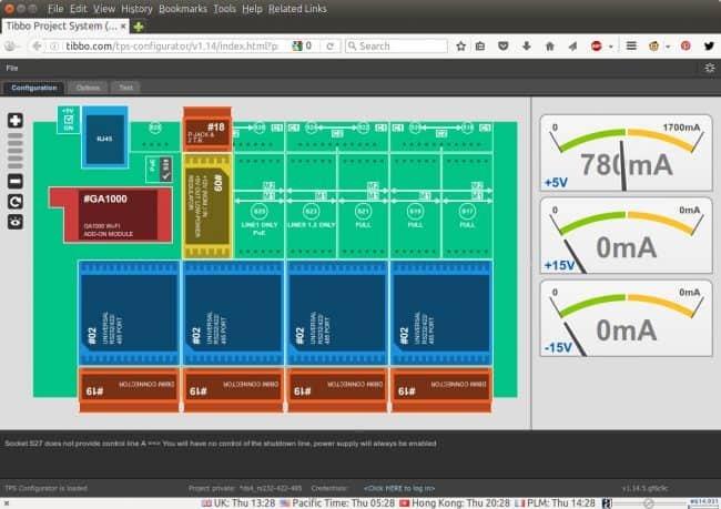 Tibbo Project System - konfigurator online