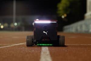 Robot szybki jak Usain Bolt motywuje do biegania