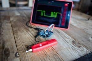 Aeroscope – miniturowy oscyloskop z Bluetooth