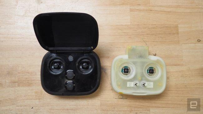 Prototyp kontrolera GoPro Karma.