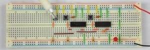 Tylko lewy przycisk – dioda wyłączona.