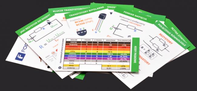 Zestaw kieszonkowych tablic elektronicznych