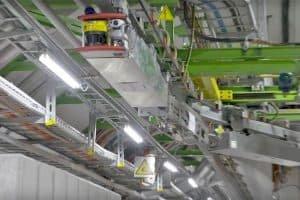 Robot TIM monitoruje Wielki Zderzacz Hadronów