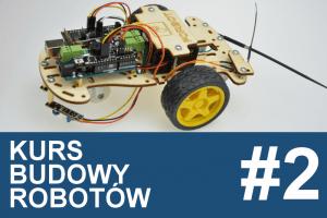 Kurs budowy robotów – #2 –  sterownik robota, czujniki