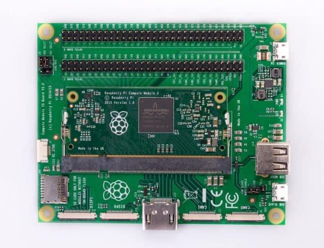 Nowa wersja Compute Module IO Board.
