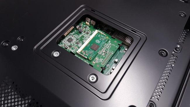 Zastosowanie modułu CM w wyświetlaczach firmy NEC.