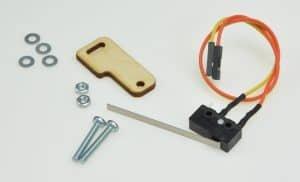 Elementy konieczne do montażu czujnika.