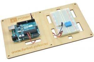 Podłączenie DHT-11 do Arduino UNO.