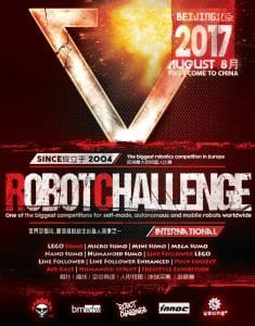 Plakat zawodówRobotChallenge 2017.