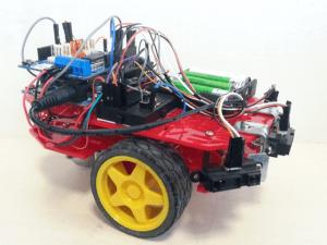 Robot mobilny wykorzystujący Arduino Due.