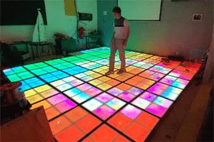 Interaktywna podłoga do tańca DIY