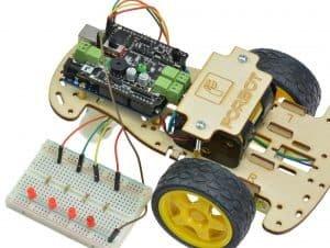 Podłączenie diod do ekspandera.